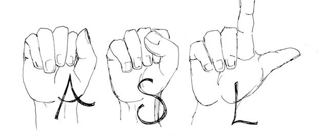 ASL hand shapes